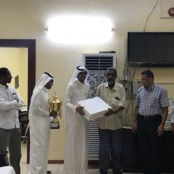 نائب رئيس جمعية الكشافة بالمملكة يدشن كشافة تنمية أبوعريش