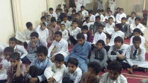 مدرسة المجديرة بصبيا تنفذ برنامج رفق لطلاب المرحلة الإبتدائية