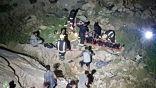 فرق الدفاع المدني تباشر حادث سقوط مركبة بجبال العبادل نتج عنها حالة وفاة وإصابة آخر