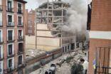 انفجار مدريد يودي بحياة 3 أشخاص على الأقل