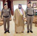 نائب أمير جازان يقلد مدير شرطة الداير العقيد الجابري رتبته الجديدة