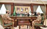 الأمير محمد بن ناصر يستقبل مدير فرع المجاهدين المعين بالمنطقة