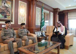 الأمير محمد بن عبد العزيز يشيد بجهود القطاعات الأمنية بمنطقة جازان