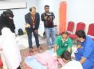 وكيل محافظة الحرث يفتتح ركن التوعية الصحية بمستشفى الحرث العام