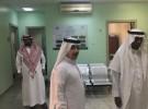 مدير خدمات المياه يتفقد مشروعات المياه والصرف الصحي بمحافظة فرسان