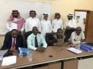 رئيس وأعضاء المجلس البلدي بقوز الجعافرة يستقبل رئيس وأعضاء المجلس البلدي بمحافظة الحرث